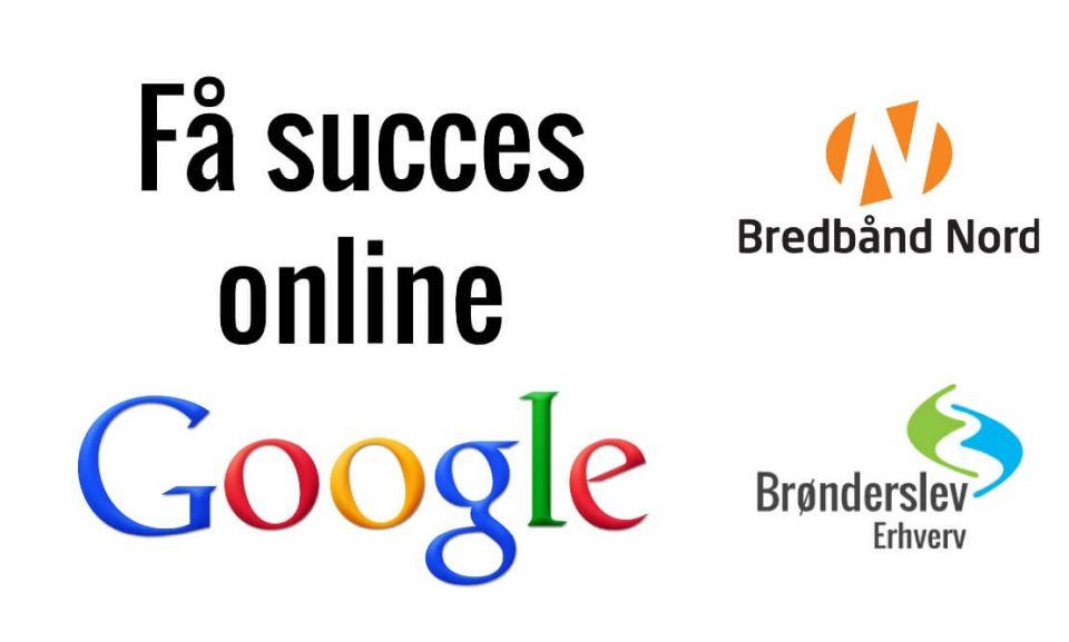 Bliv fundet af Google