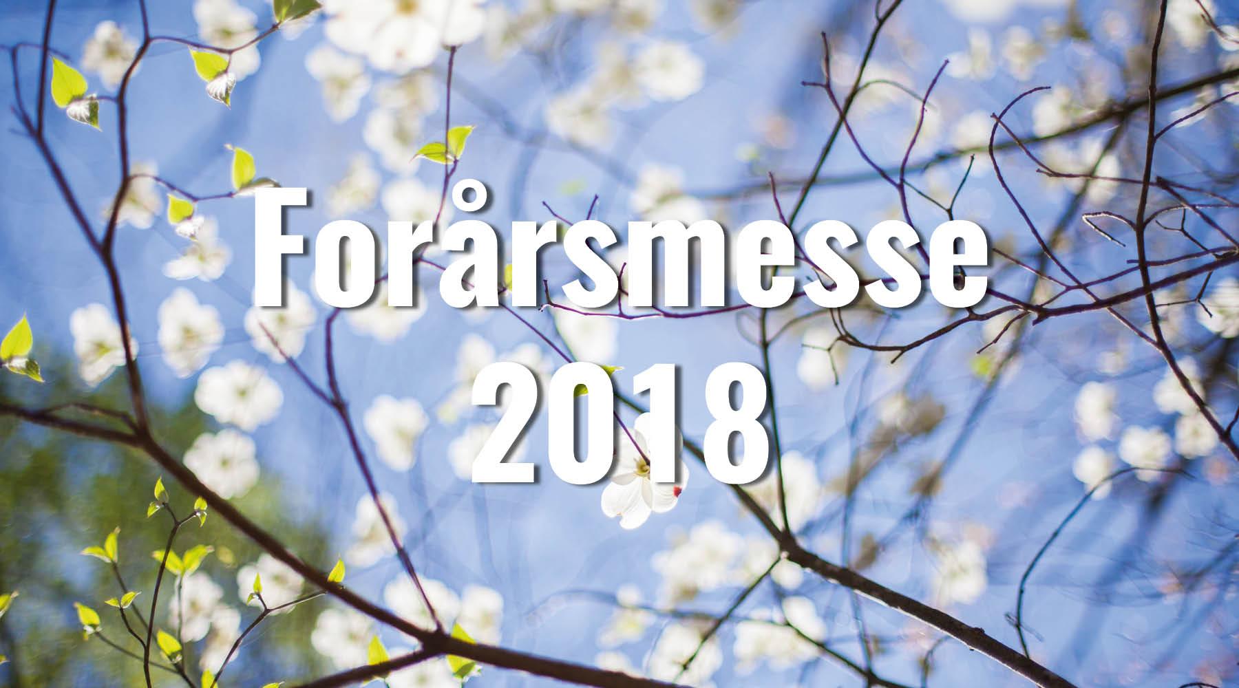 Forårsmesse Brønderslev 2018