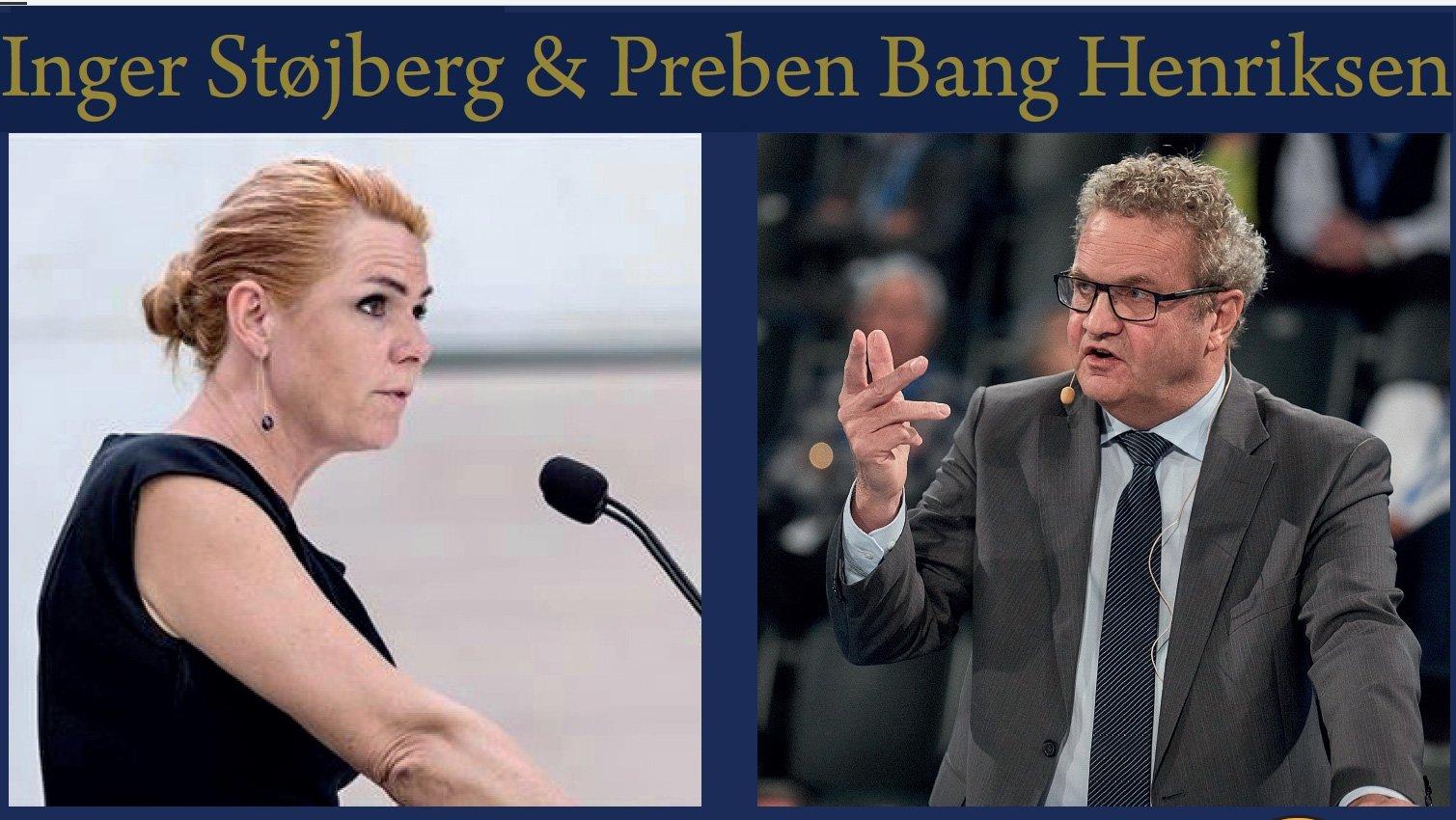 Livet og Borgen med Inger Støjberg & Preben Bang Henriksen